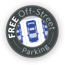 off street parking available