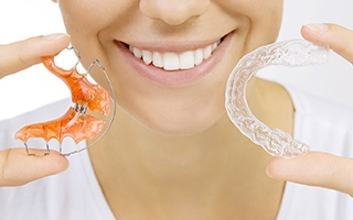 Invisalign and retainer