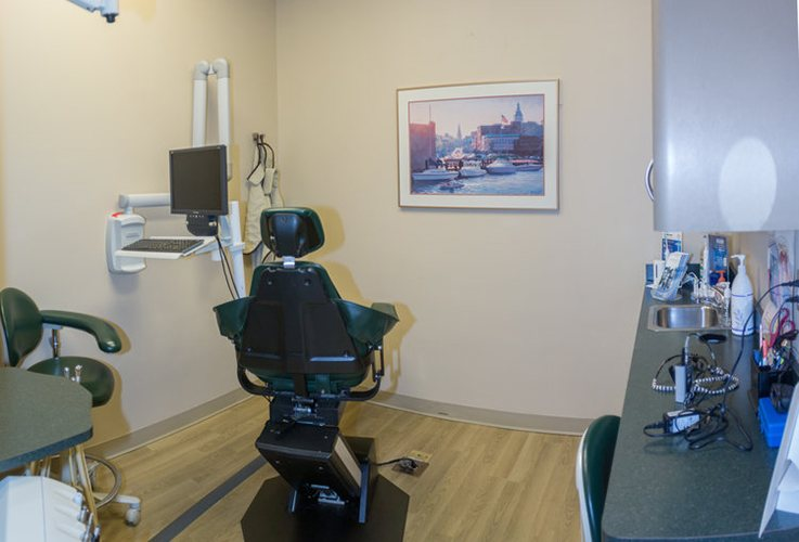 State-of-the-art dental treatment room